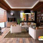 رنگ های مناسب فضای چوبی